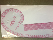 Large Styling Design Ruler, Straight Edge, French Curve