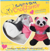 Colorbok Build A Bear Kit, Fashion Panda
