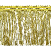Expo International Etta Metallic Fringe Trim Embellishment, 10-Yard, Gold