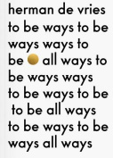 To be All Ways to be