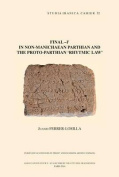 Final -Y in Non-Manichaean Parthian and the Proto-Parthian 'Rhytmic Law'