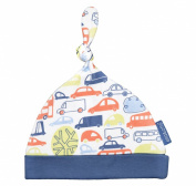 Ella & Otto Baby-Boys Organic Knotted Beep Hat