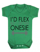 I'd flex but I like this onesie Funny Baby Playsuit / Bodysuit