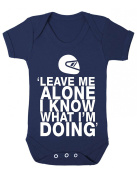Leave me alone, I know what I'm doing Funny Baby Playsuit / Bodysuit