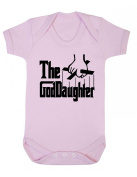 Purple Penguin Clothing Baby Grow - The God Daughter