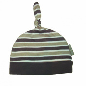 Ella & Otto Unisex Baby Organic Knotted Striped Hat