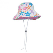Sun Busters Girls UV Bucket Hat - UPF50+ Sun Protection - Sizes 1-12 years