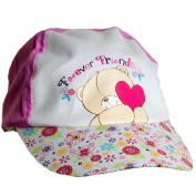 Forever Friends Girls Cotton Peak Baseball Cap