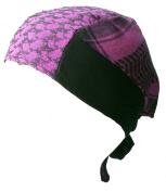 Racker-n-Roll Baby Girls' Hat Pink Pink-Schwarz One Size