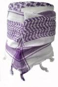 Racker-n-Roll Baby Girls' Neckerchief Purple Weiß-violett One Size