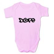 Bang Tidy Clothing Baby Girl's Dope Diamond Dummy Baby Grow Bodysuit