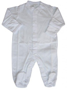 Kissy Kissy Baby Signature Footie-White-3-6 Months Colour
