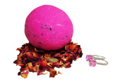 Rose | Bath Bomb (Earrings) | JewelBath Edition | with 925 Sterling Silver surprise up to £250