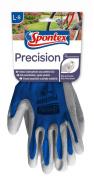 Spontex 12130108 Size 8-8.5 Precision Gloves