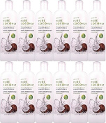 TWELVE BOTTLES of Inecto Pure Coconut Moisture Conditioner 500ml