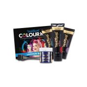 La Riche Directions Colour Kit Inc Shampoo, Hair Dye & Conditioner 100ml-Lagoon Blue