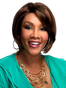 Vivica A Fox HAYDEN Wig Pure Stretch Cap 100% Hand Stitched All Day Comfort FS1B/33