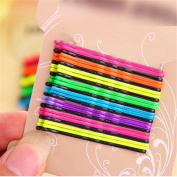 Multi Colours Girl Princess Bob Hairpin Alloy Bobby Pin Hair Accessory Bang Clip Type B