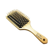 Wooden Massage Hair Paddle Brush Antistatic Comb