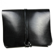 Leather IPAD Men's Clutch Wallet Bag Retro Genuine Evening Prom Purse Bag