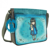 Santoro Gorjuss Coated Cross Body Bag - Hush Little Bunny