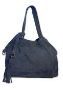 Posh Gear Womens Handbag Borsalinda suede leather Made in Italy 30x25x25