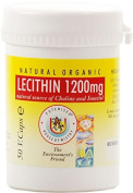 The House Of Mistry Lecithin, 1200mg, 50 Capsules