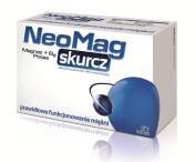 NeoMag cramp -50 tablets - ingredients affect positively the proper functioning and work of muscles (contraction and relaxation), support the body in stages of fatigue and reduced physical endurance, and help maintain able-bodieness.