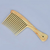 Large Wide Tooth Hair Detangling Hairdressing Rake Comb