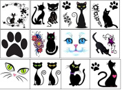 Cat Temporary Tattoos
