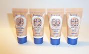 Rimmel BB Cream Beauty Balm 9 In 1 Skin Perfecting Make-Up SPF 25 - 8ml - Medium x 4 Units