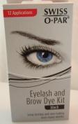 Swiss O' Par Eyelash and Brow Dye Kit