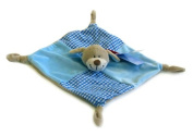 Keel Toys Baby's 1st Puppy Comforter Blanket 28cm Blue