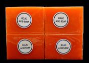 Genuine Kojic Acid Soap 4 x 135g by BEVI - makers of Kojie San brand