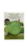 Maithong, Olive & Noni Crystal Soap, Smoothen, Soften and Brighten the Skin,organic Glycerin, 70 G.