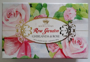 Rose Garden - Ghirlanda Di Rose Luxury Bath Soap Gift Pack - Made in Florence Italy