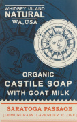 Whidbey Island Natural Goat Milk Soap Bar - Saratoga Passage
