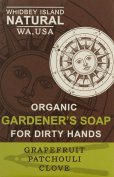 Whidbey Island Natural Gardener's Soap Bar - Patchouli Grapefruit Clove