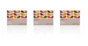 Orla Kiely Geranium Boxed Soaps - Set of 3, 50 gramme soaps