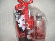 Bath & Body Works Japanese Cherry Blossom 240ml Body Cream,240ml Body Mist ,300ml Luxury Bubble Bath Gift Set