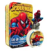Spiderman Spider Sense By Marvel Eau De Toilette Spray 50ml / 1.7 Fl.oz in a Metal Tin Can Collectors Box