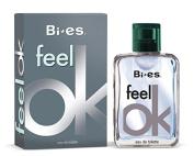 FEEL OK BY BI-ES PERFUME FOR MEN & WOMEN (UNISEX) 3.3 OZ / 100 ML EAU DE TOILETTE SPRAY