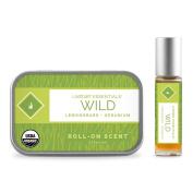 LIVETART ESSENTIALS - Wild - Lemongrass and Geranium Natural Perfume Oil