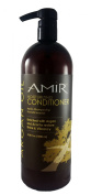 AMIR Moisturising Conditioner Litre Size! 980ml with pump! Enriched with Argan and Acai to restore Vibrancy! BEST VALUE SIZE!