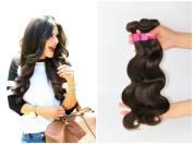 Brazilian Body Wave Human Virgin Hair Weft Unprocessed Remy Hair Extensions #2 Dark Brown 3 Bundles 300g Per Lot Grade AAAAAAA