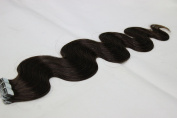 "20pcsX20"" Tape in Skin Weft Hair Extensions Body Wave Human Hair"