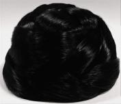 BUBBLE Dome Wiglet Chignon Bun Hairpiece 1-Jet Black