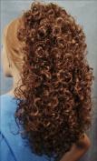 BONNIE Curly Banana Clip Hairpiece by Mona Lisa 30 Auburn
