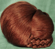 BLISS Dome Wiglet Chignon Bun Hairpiece 130 Copper Red