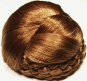 BLISS Dome Wiglet Chignon Bun Hairpiece 27 Strawberry Blonde